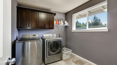 Paint The Laundry Room Luxurious