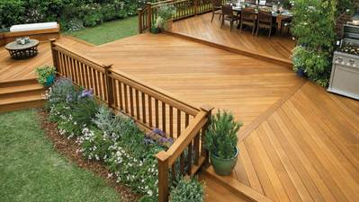 Deck Stain Colors For White Houses