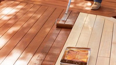 Deck Ideas: Do I need to clean my deck before I stain it?