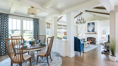 Beach House: Open-Plan Living