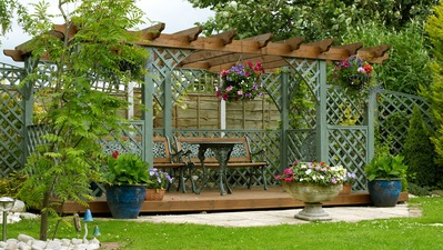 Summer Ready Pergolas