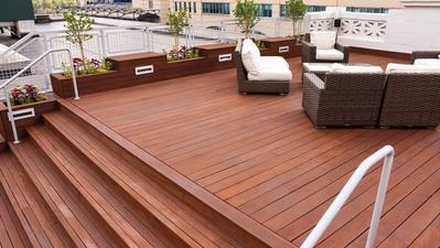 A Gorgeous Rooftop Deck Transformation