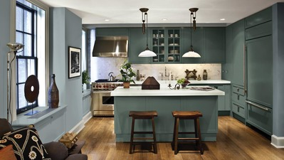 Painting Kitchen Cabinets - A Kitchen Colors Guide