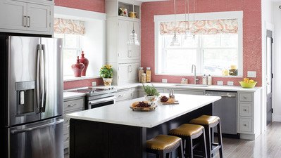 Learn How To Paint Kitchen Cabinets With Olympic®
