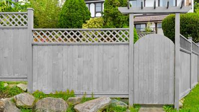 ​Wooden Fence Colors That Will Wow Your Neighbors