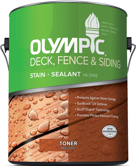 Deck, Fence & Siding Stain Toner